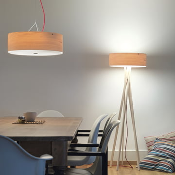 Belux - Arba pendant and floor lamps