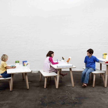 The Growing Table with bench by Pure Position