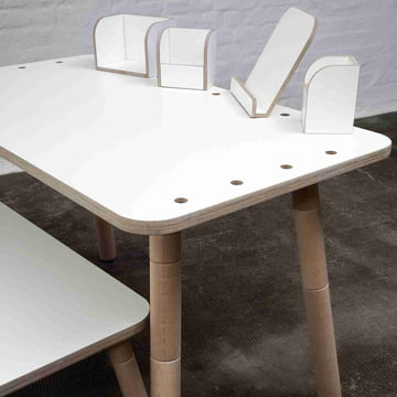 Pure Position -Growing Table with accessories
