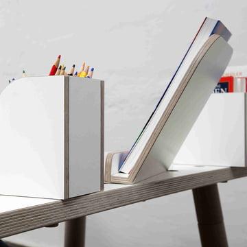 Growing Table - Book Board, Book Holder, Pen Box
