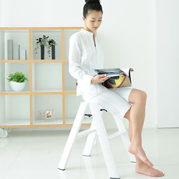 Multifunctional Lucano 2 Step Step Ladder by Metaphys