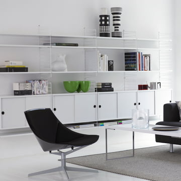 String Shelving system, white