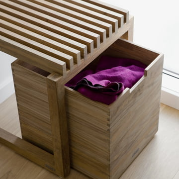 Skagerak - Cutter Box, teak wood