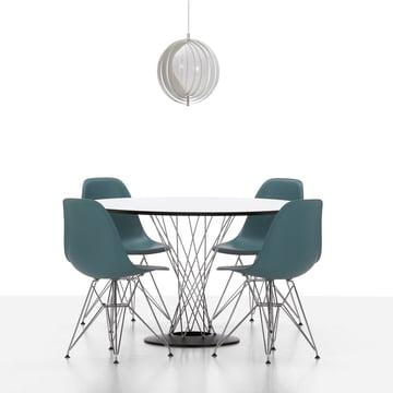 Vitra - Eames Plastic Side Chair DSR, Ambiente