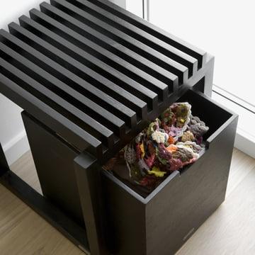 Skagerak - Cutter Box with stool, black
