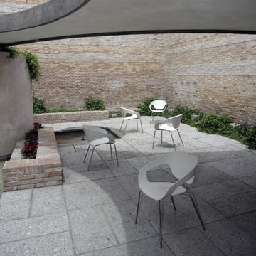 The Vad Chair for outdoor use on the patio