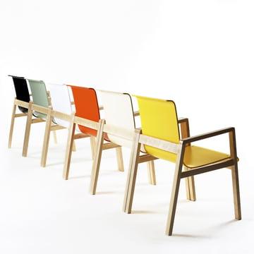 Artek - 403 Hallway Armchair, group, different colours