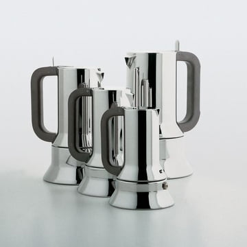 Alessi - Espresso machine 9090, different sizes
