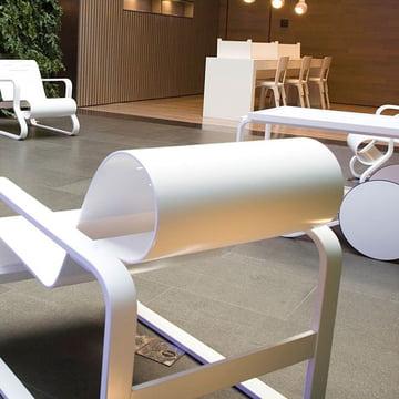 Artek interior furniture in white