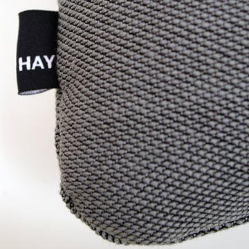 Hay - Dot 2x2 Steelcut Trio cushion, dark grey