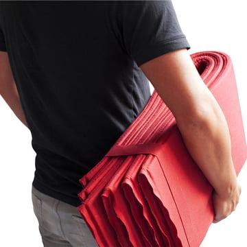 Vial - Fida folding cover, red