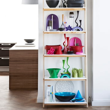 The One Step Up shelf in the kitchen