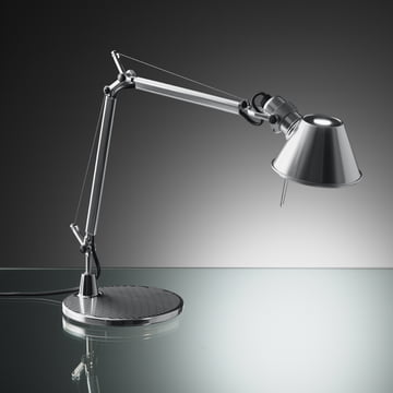 Artemide Tolomeo Micro table lamp, aluminium
