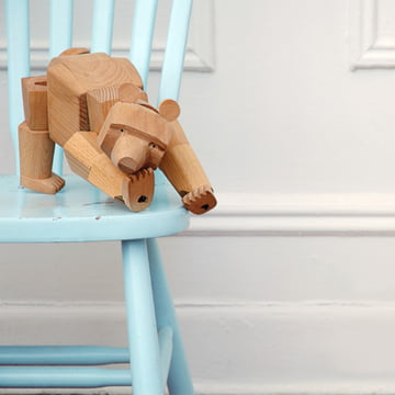 areaware wooden creatures ursa the bear