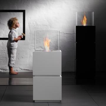 Safretti - Cube W1/B1 Fireplace - With Child 2