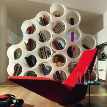 Cappellini - Cloud Shelving System - bird ambience