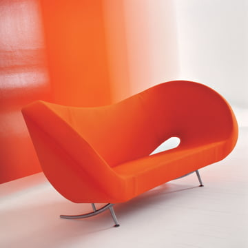 Moroso - Victoria and Albert couch - orange situation