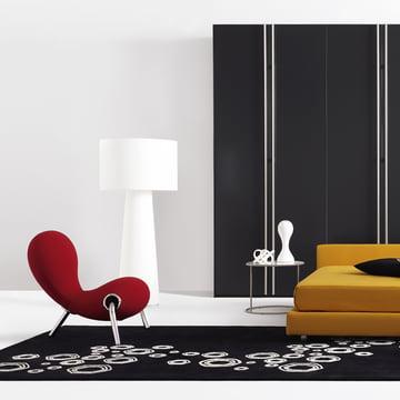 Cappellini - Progetto Oggetto Floor Lamp PO/9815 with Embryo