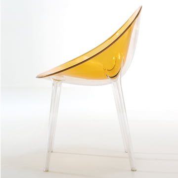 Kartell - Mr. Impossible Chair, transparent ochre