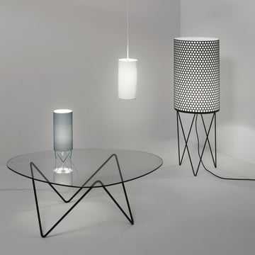 Pleasantly smooth Atmosphere with the Pedrera Lamps and Furniture