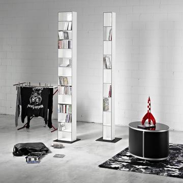 Wogg 25 CD-shelf, 26x15cm, white