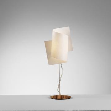 Domus - Loop Table Lamp, Zebrano