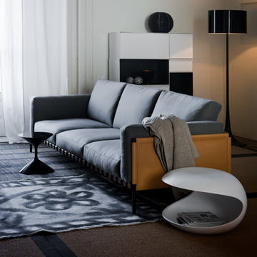 Zanotta - White Shell Side Table