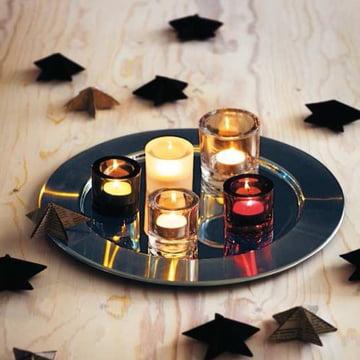 Iittala - Sarpaneva Serving Plate, stainless steel