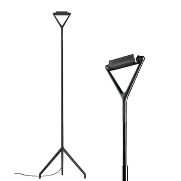 Luceplan - Lola Floor Lamp, black