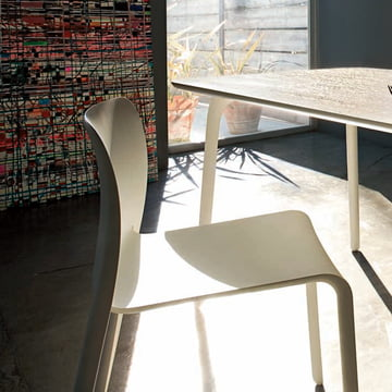 Magis - Table First with Chair, white