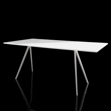 Magis - Baguette Table - white - black background