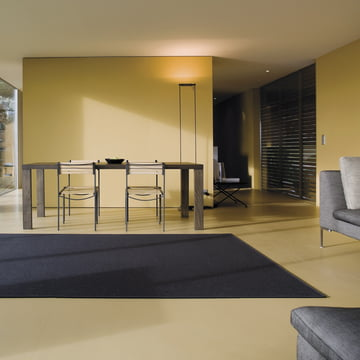 Ruckstuhl - Carpet Feltro, grey anthracite 70036 - ambience