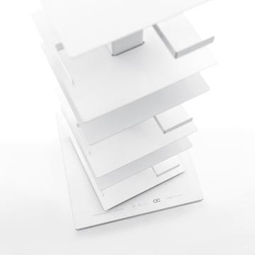 Opinion Ciatti - Ptolomeo carousel bookshelf PTX4 - Details