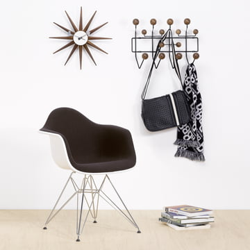 Vitra Hang it all Wardrobe (Special Edition), walnut/black