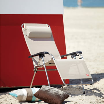 Movida Aluminium Lounger by Fiam