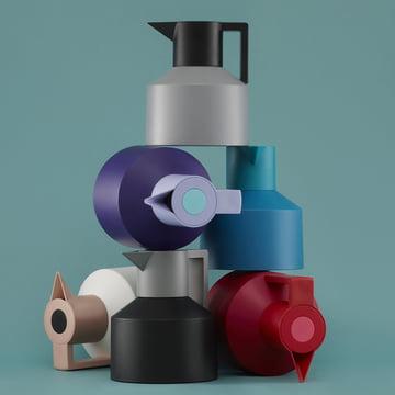 Normann Copenhagen - Geo thermos flask - group