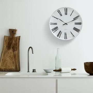 Rosendahl - AJ Roman wall clock, Ø 21cm