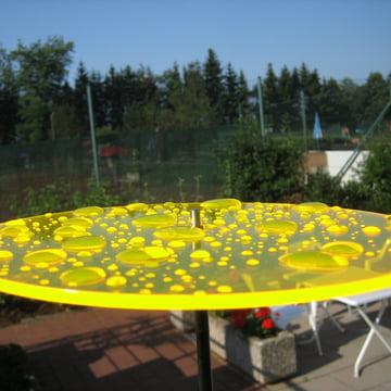 Cazador Del Sol Uno Sun Catcher Yellow