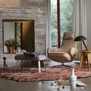 Vitra - Repos Lounger, Cosy with Panchina