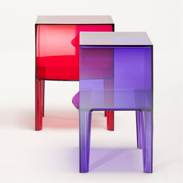 Kartell - Small Ghost Buster, purple + red
