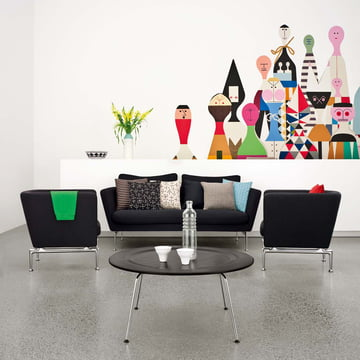 Vitra - Suita Sofa, black - ambience