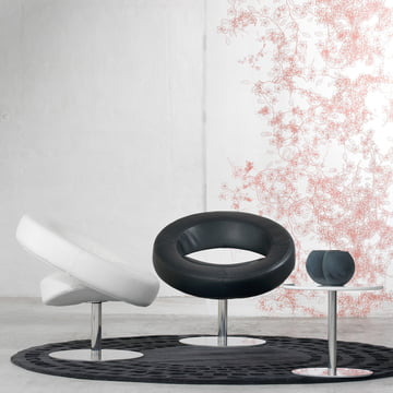 Softline - Hello swivel chair, leather - ambience