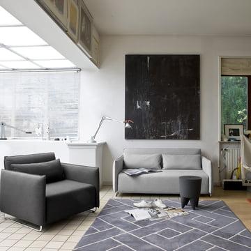 Softline - Cord sleeping lounge and sofa