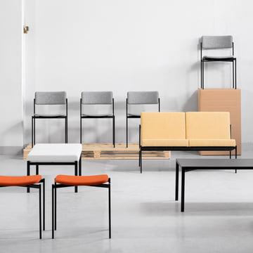 Artek - Kiki coffee table (60 x 60 black)