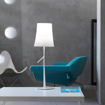Foscarini - Birdie Piccola table lamp, white
