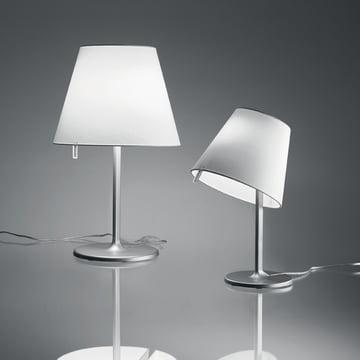 Artemide - Melampo Tavolo table lamp, gray aluminum
