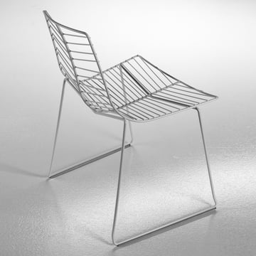 arper - Leaf Chair, silver