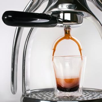 ROK - Espresso maschine with splitter