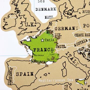 A popular destination in Europe: France