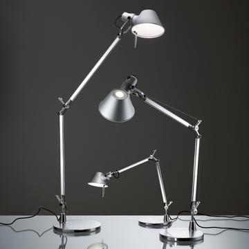 Artemide - Tolomeo Mini LED Table Lamp, alumin